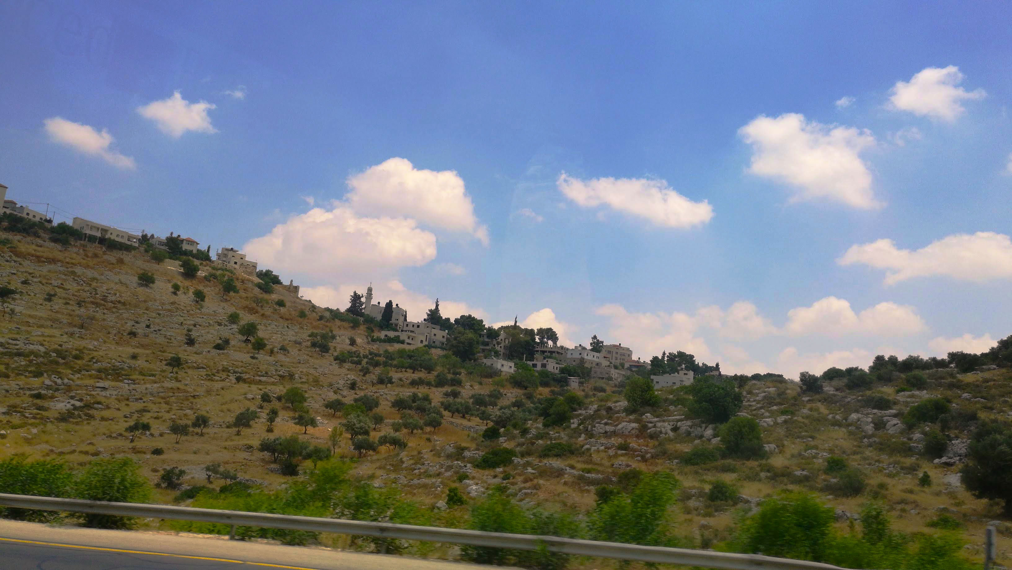 Palestina - drumul de la Tel Aviv la Betlehem